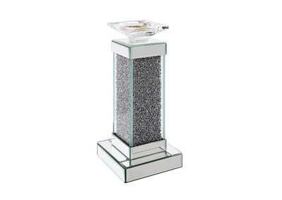 Rekha Silver Accent Candleholder