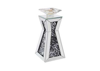 Nowles Silver Accent Candleholder