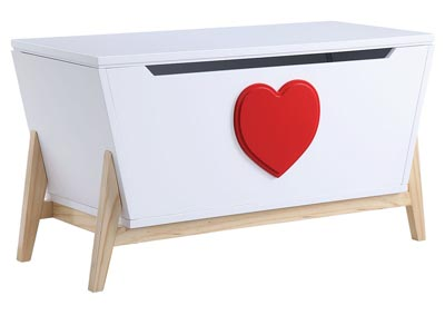 Image for Padma White/Red Youth Chest