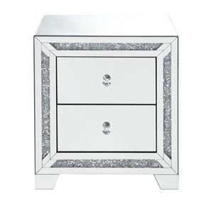 Noralie Mirrored Night Table