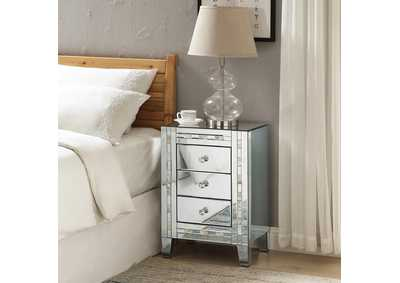 Image for Nasa Mirrored/Pearl Accent Table