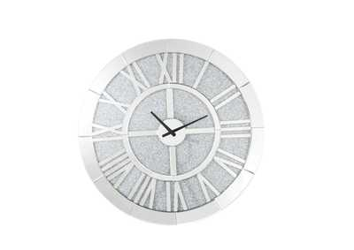 Nowles Mirrored Wall Clock