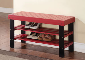 Ramzi Red Bench