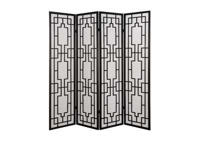 Image for Cecilia Black Room Divider