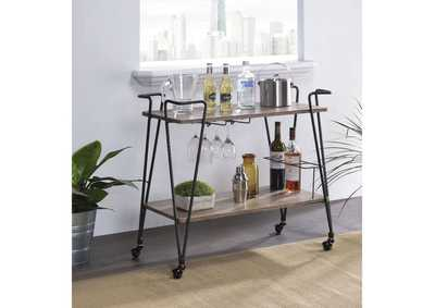 Paulsen Black Serving Cart
