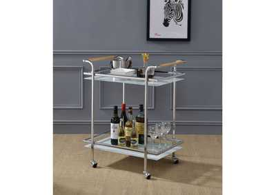 Munro Silver Serving Cart
