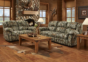 Next Camo Reclining Loveseat