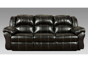 Image for Taos Black Reclining Sofa