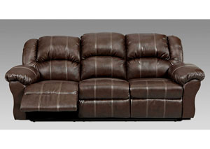 Brandon Brown Reclining Sofa