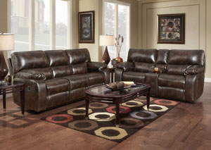 Image for Canyon Chocolate Reclining Loveseat
