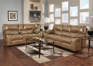 Image for Canyon Taupe Reclining Loveseat