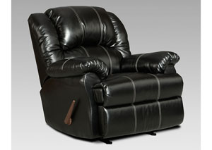 Image for Taos Black Rocker Recliner