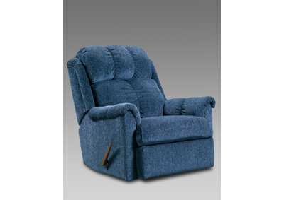 Image for Tahoe Blue Recliner