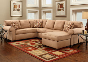 Image for Patriot Mocha Sectional Sofa