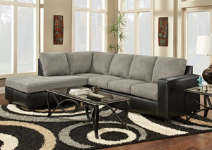 Image for Sensations Grey Sectional Sofa