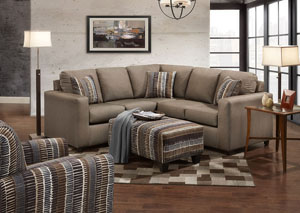 Image for Structure Toast Sectional Sofa