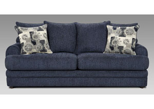 Image for Caliber Navy Sofa