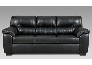 Image for Austin Black Sofa