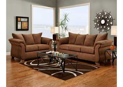 Image for Aruba Chocolate Queen Sleeper Sofa