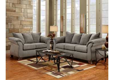 Image for Sensations Grey Queen Sleeper Sofa