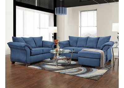 Image for Sensations Cobalt Sofa & Chaise