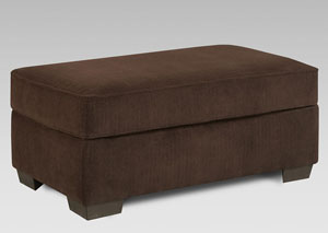 Image for Chevron Mink Cocktail Ottoman