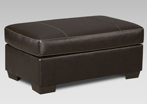 Image for Austin Chocolate Cocktail Ottoman