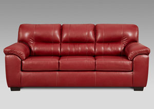 Image for Austin Red Sofa