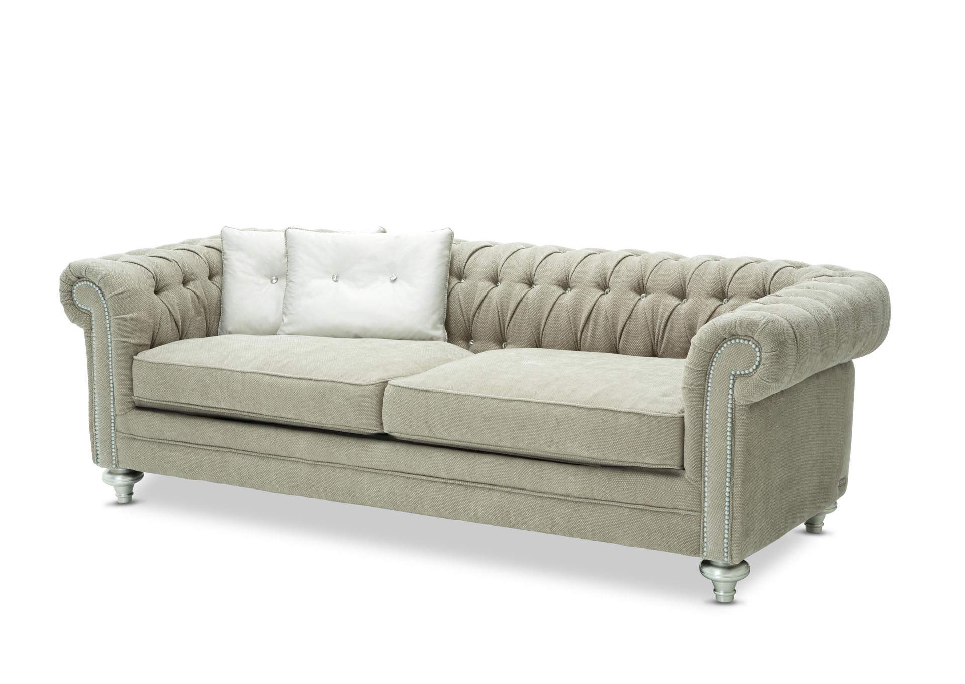El Encanto Furniture By Yulissa Grand Masterpiece Platinum Sofa