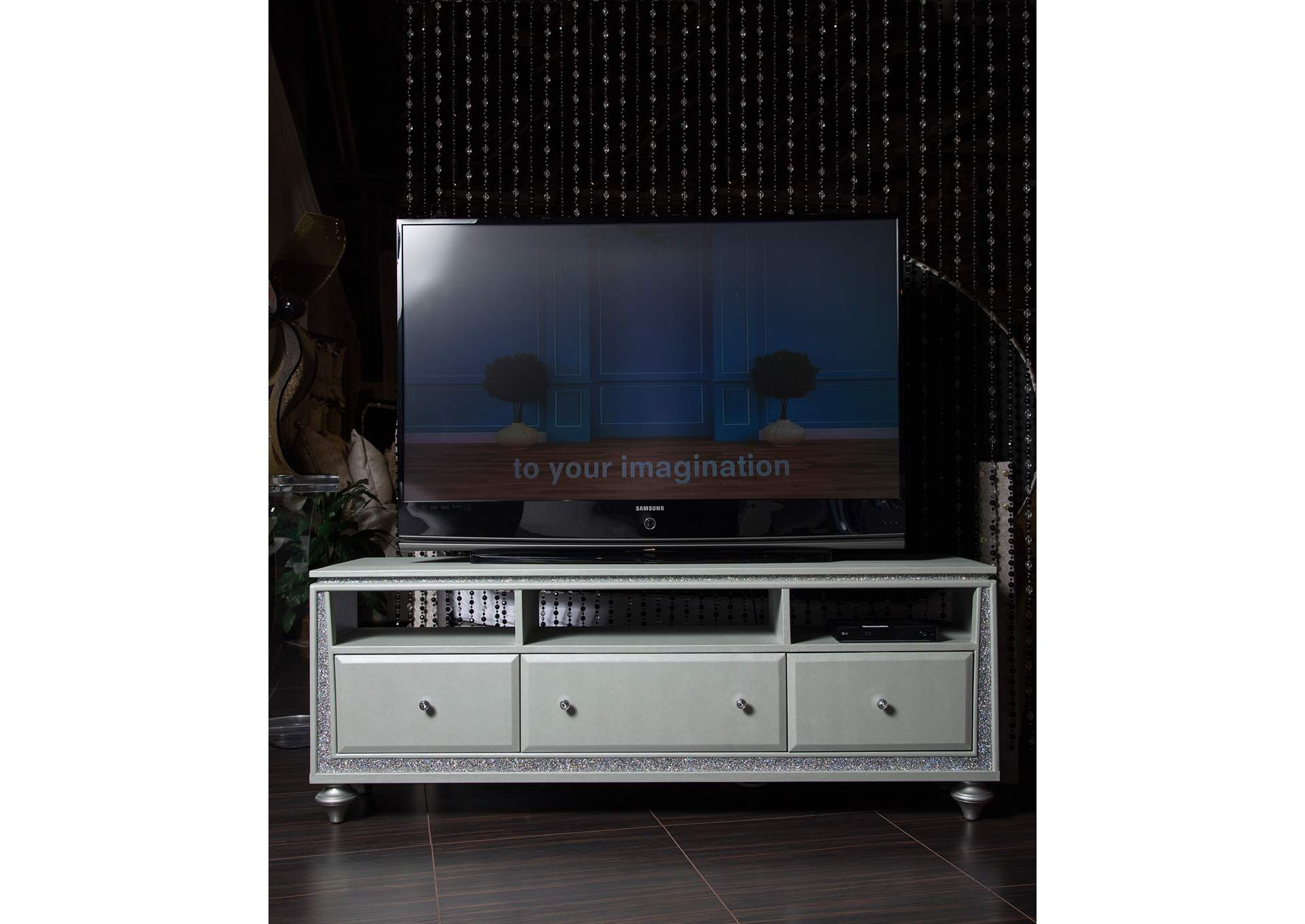 Scotts Square Platinum TV Console,AICO