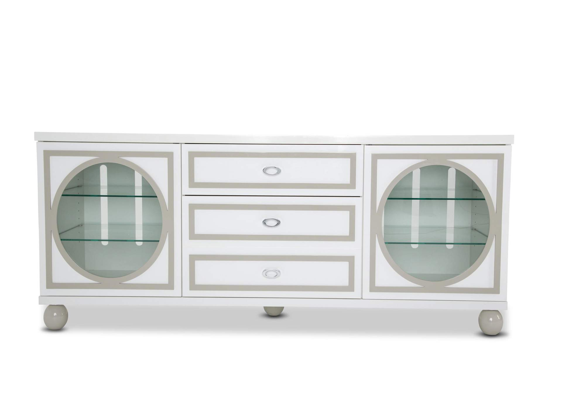 Sky Tower White Cloud TV Cabinet,AICO