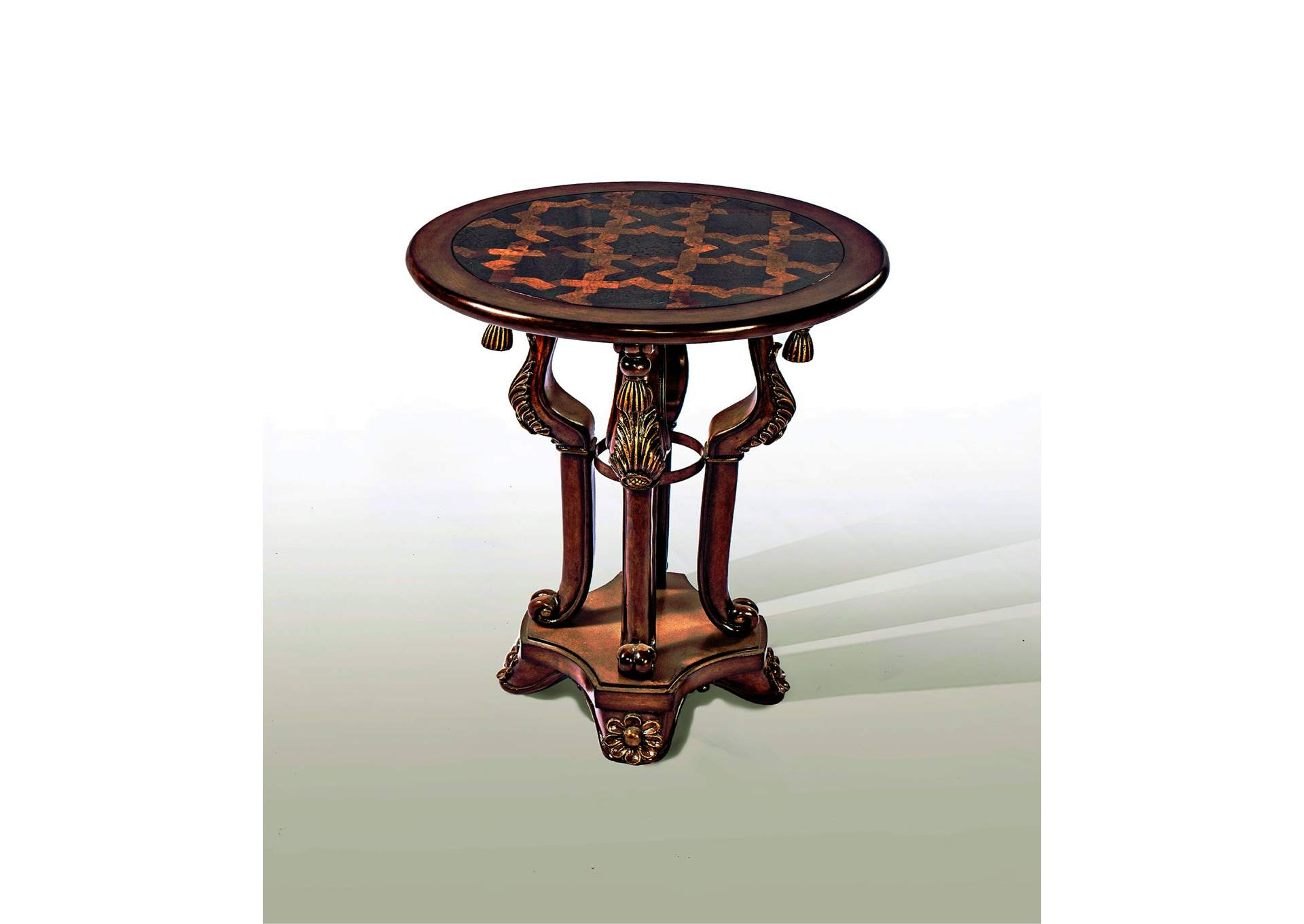 royal furniture gifts discoveries three tier accent table