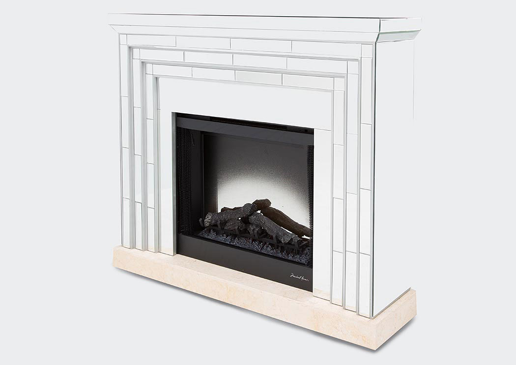 Montreal Fireplace w/Marble,AICO
