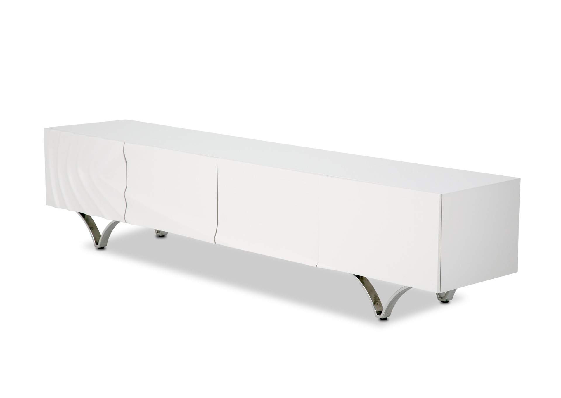 Trance Cosmo Off-White TV Console,AICO