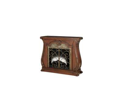 Palace Gates Royal Sable Fireplace w/Electric Firebox Insert