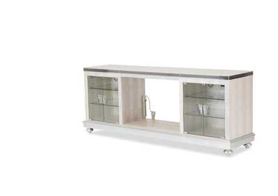 Hollywood Swank Crystal Croc Media Console without Docking