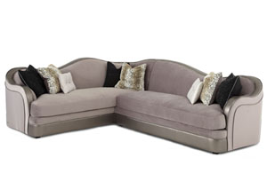 Grand Masterpiece Silver LAF Sofa - Grp3/Opt1