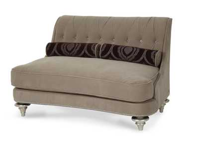 Image for Grand Masterpiece Taupe Settee