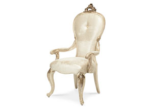 Platine de Royale Champagne Desk Chair