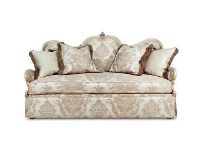 Image for Platine de Royale Champagne Wood Loveseat
