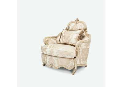 Image for Platine de Royale Champagne Fixed Reclined Armchair