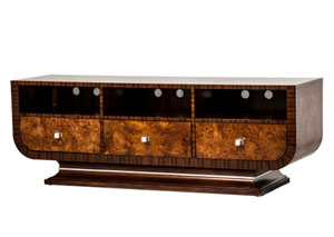 Cloche` Bourbon TV Stand