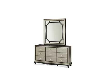 After Eight Pearl Rectangular Dresser Mirror