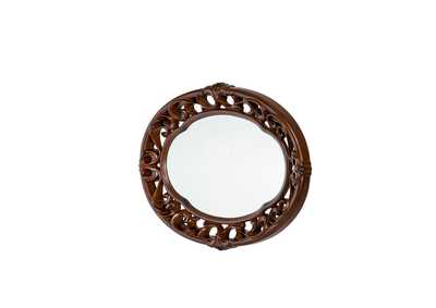 Villagio Hazelnut Sideboard Mirror