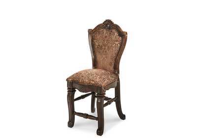 Image for Windsor Court Vintage Fruitwood Assembled Counter Height Chair