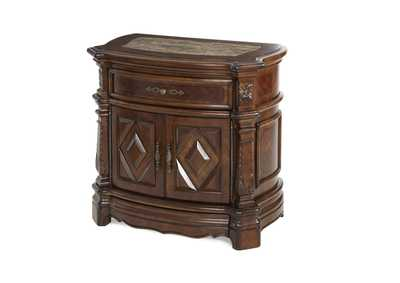 Image for Windsor Court Vintage Fruitwood Nightstand