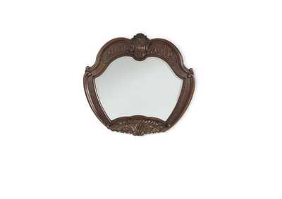 Windsor Court Vintage Fruitwood Sideboard Mirror