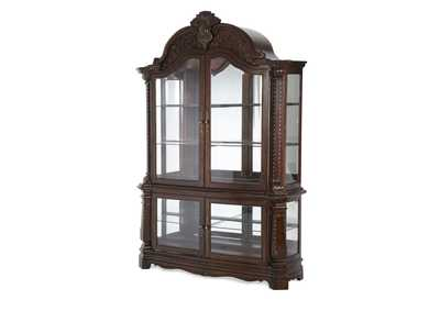Windsor Court Vintage Fruitwood Curio