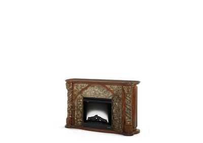 Villa Valencia Classic Chestnut Fireplace (2 Pc)