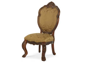 Chateau Beauvais Noble Bark Side Chair